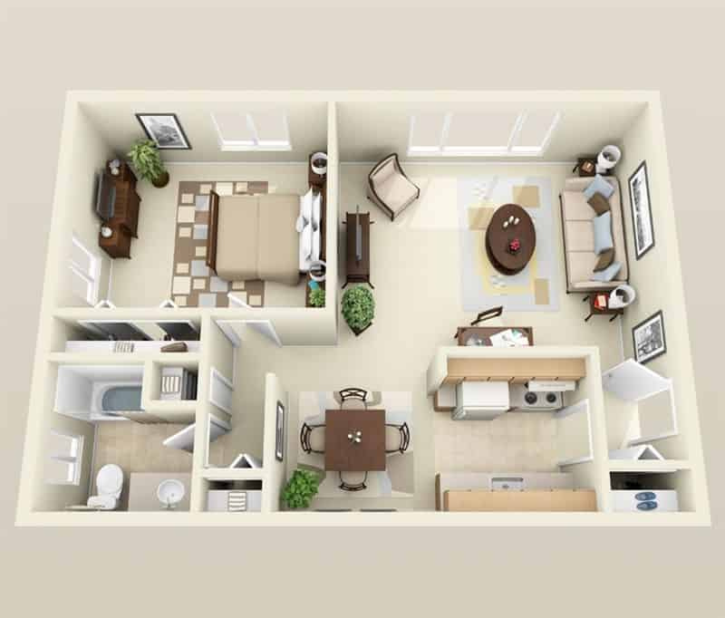 One Room Apartment: What Is The Difference Between Studio Apartment And One