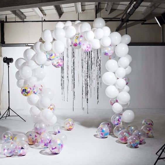 33. ART IN A BALLOON ARCH