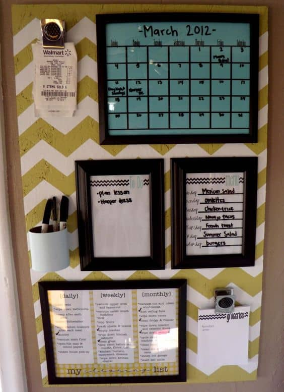 To make your won cork board ideas is easy. In this article, you can make  diy cork board for your home and corkboard for your home office
