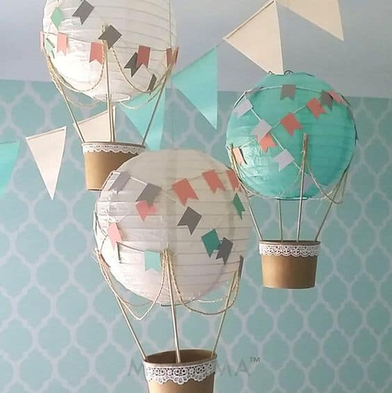 20. DESIGN DIY HOT AIR BALLOON DECORATIONS