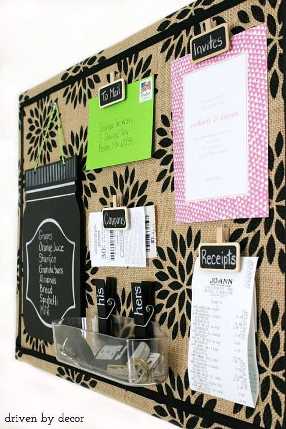 Beau You Can Match The Color Spray Painted With Your Interior Design Theme.  Black Can Also Be Paired With Chalk Board Segments To Kick Things Up A  Notch.