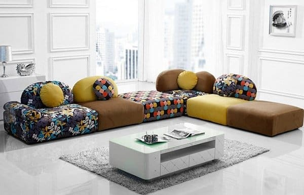 27 splendidly comfortable floor level sofas to enjoy for Floor cushion seating ideas