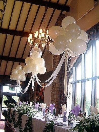 Baby Shower Entrance Table