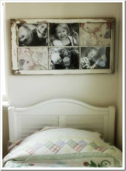 7. OLD PICTURES INTO OLD FRAMES