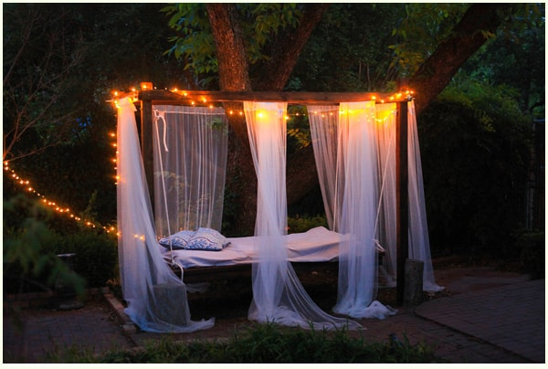 37 smart diy hanging bed tutorials and ideas to do homesthetics diy outdoor swinging bed053 solutioingenieria Gallery