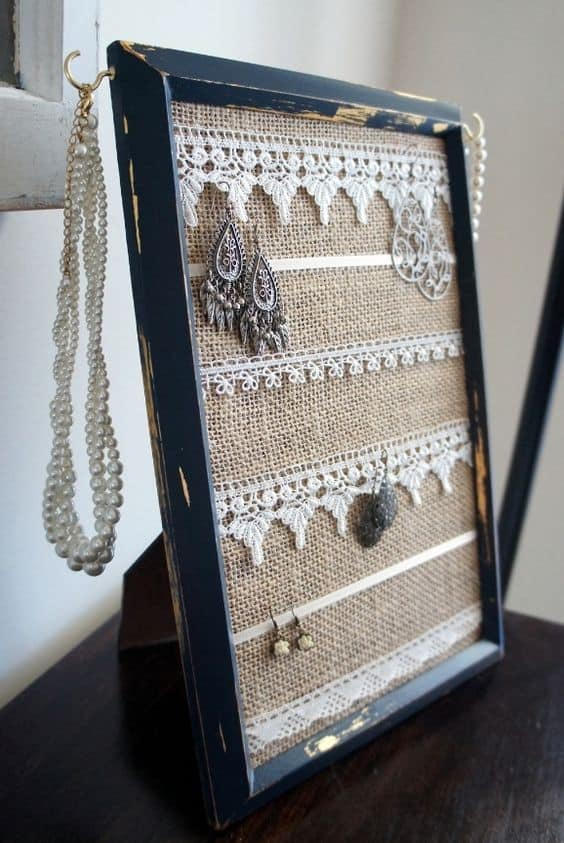 15. BURLAP AND DOLLIES