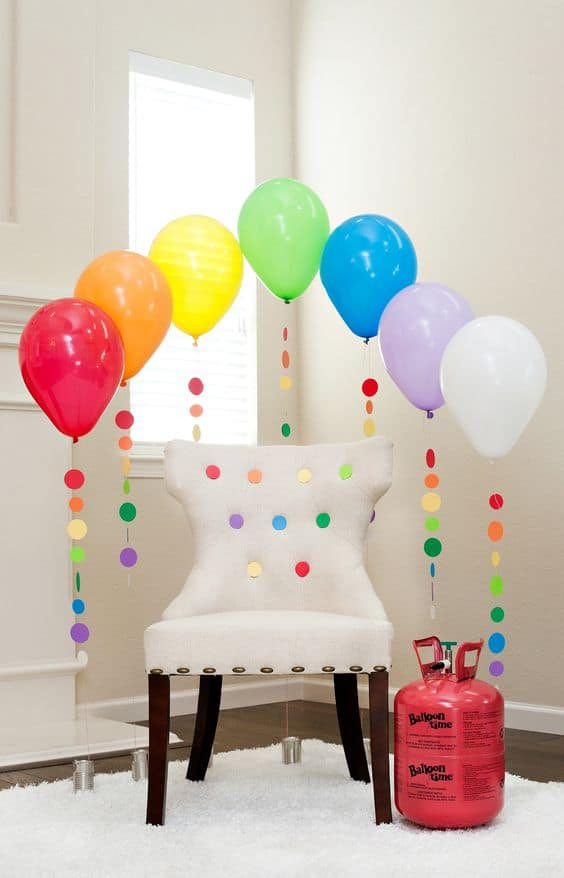 35 simply splendid diy balloon decorations for your for Home decorations with balloons