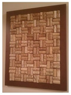 18. FRAME WINE CORK PATTERNS