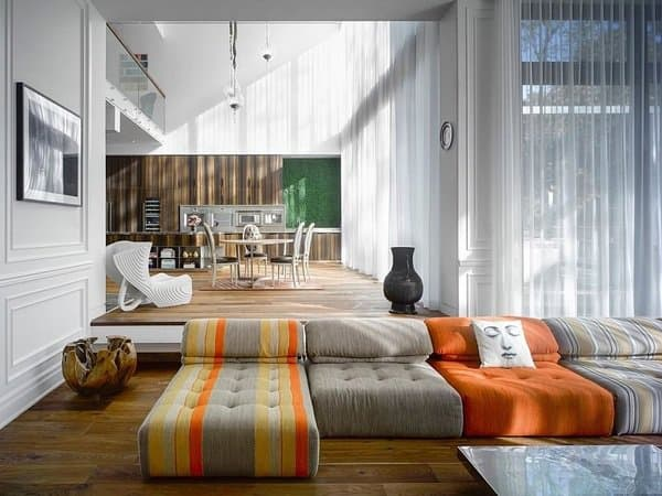 27 Splendidly Comfortable Floor Level Sofas To Enjoy
