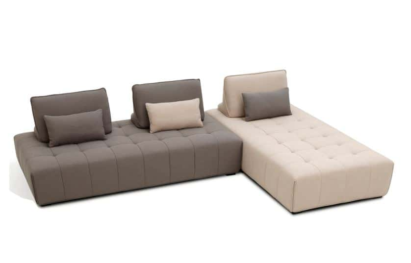 Beige And Grey Beale Flex Sofa