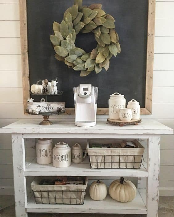 8. WITHERED WHITE coffee bar IN SCANDINAVIAN SETTING