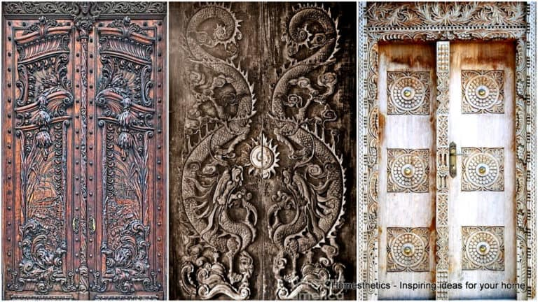 29 Splendidly Intricate Carved Doors to Surge Inspiration From