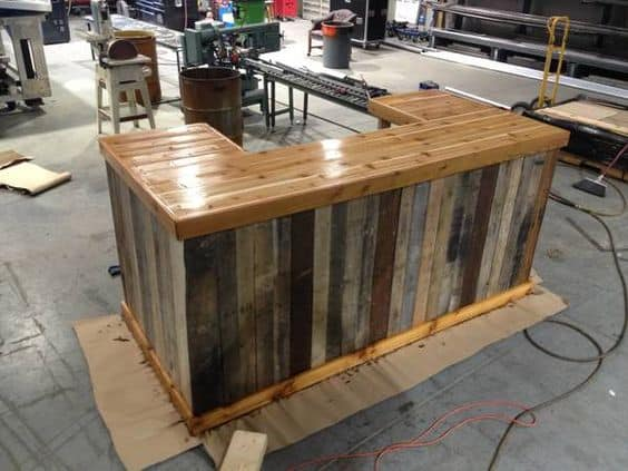 87 Epic Pallet Bar Ideas to Embrace for Your Event  : 3fcbd0c10fba0accdf5693653d95e318 from homesthetics.net size 564 x 423 jpeg 47kB