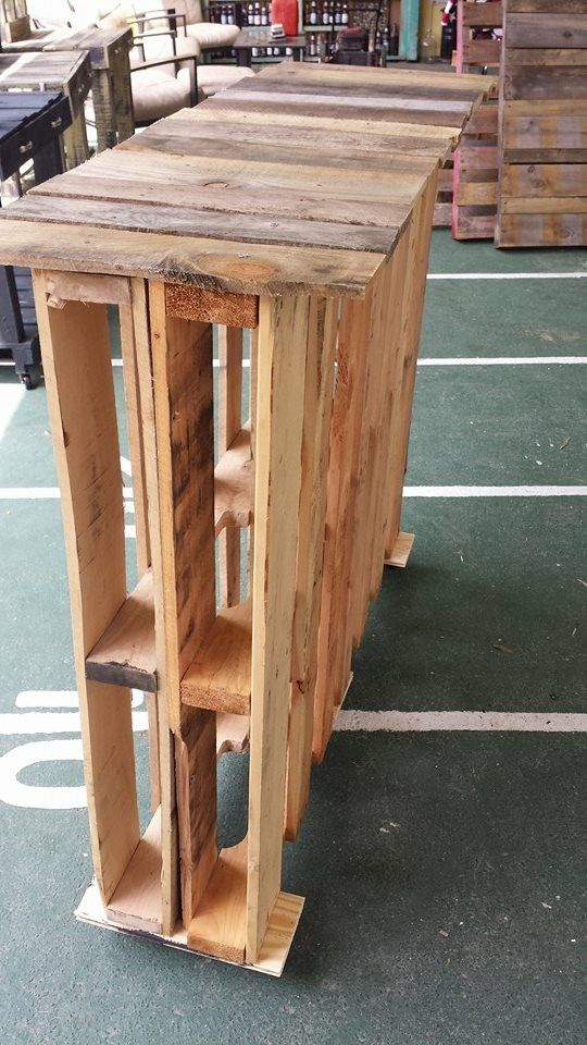 A Portable Deck On Skids : Epic pallet bar ideas to embrace for your event