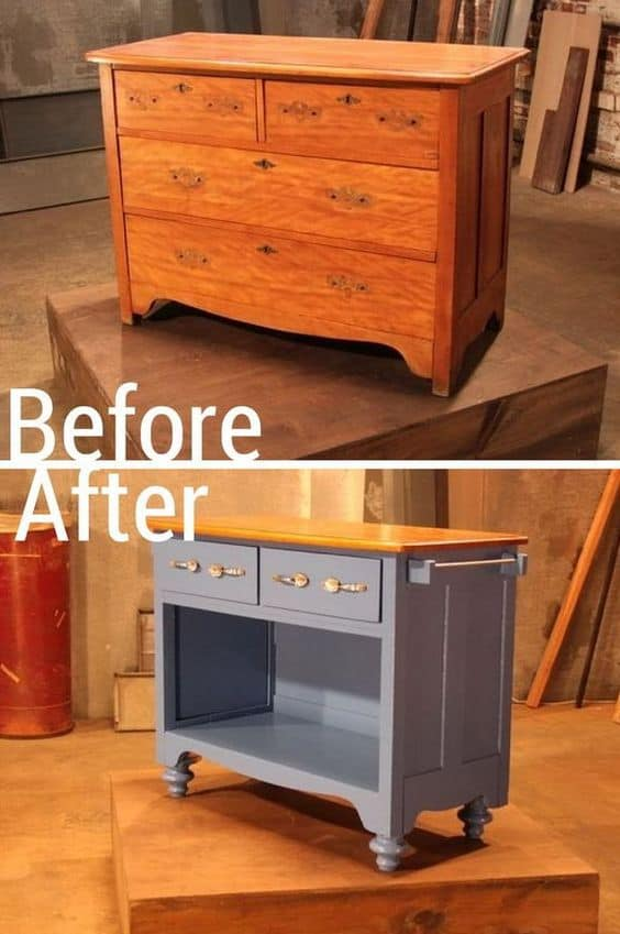27. REFURBISH AN OLD FURNISHING TO YOUR NEEDS