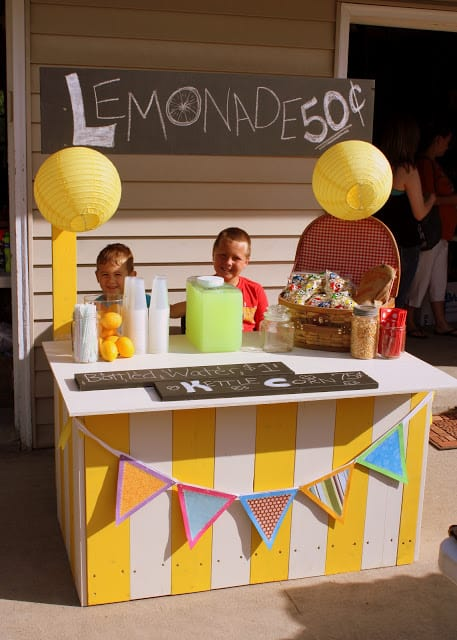 23 Joyful Diy Lemonade Stands To Build Happily Homesthetics