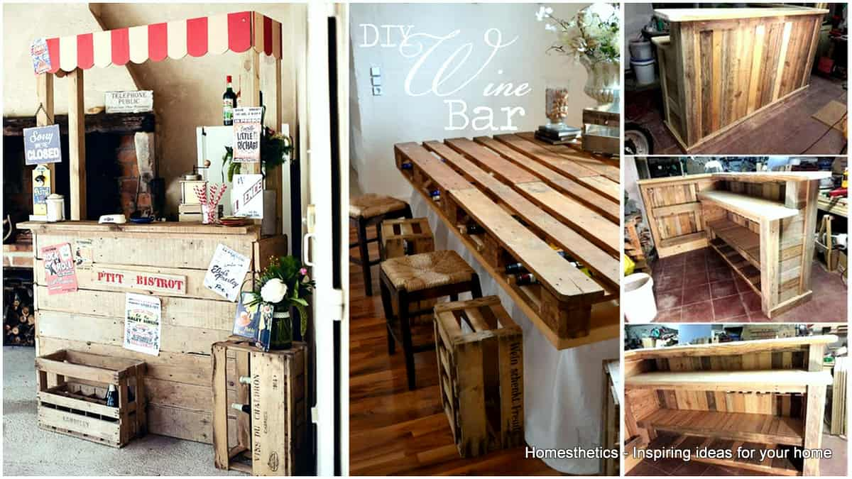 Pallet Kitchen Bar