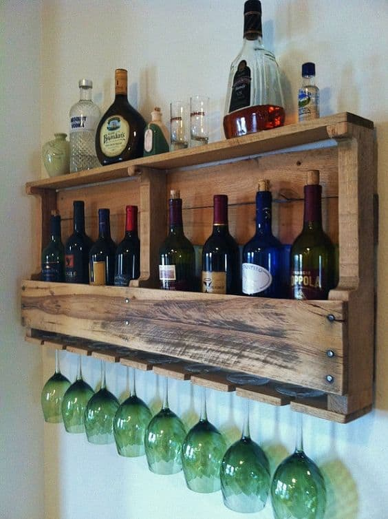 Populares 87 Epic Pallet Bar Ideas to Embrace for Your Event - Homesthetics CJ65