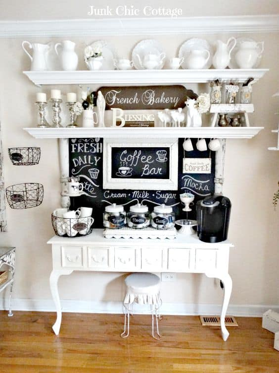 44. EXQUISITE FRENCH BAKER COFFEE BAR DESIGN