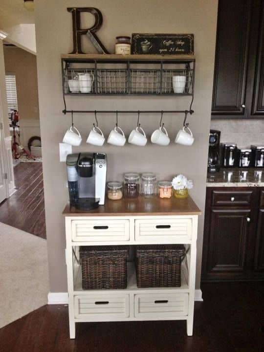 Unique 49 Exceptional DIY Coffee Bar Ideas for Your Cozy Home  HX93