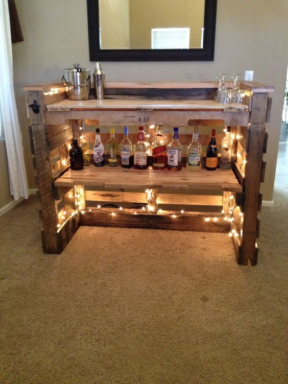 Epic Pallet Bar Ideas For Your Event Follow