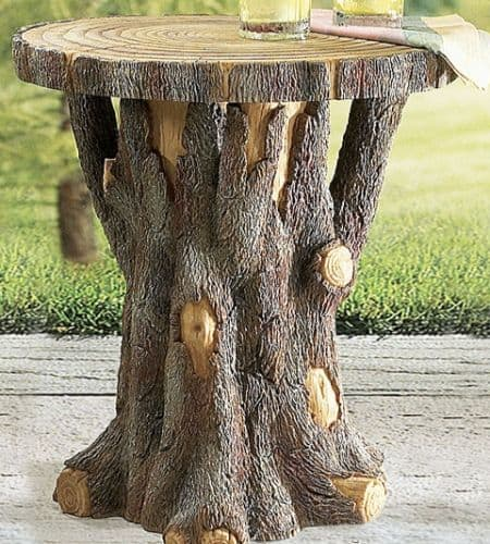 30. WOODEN ROOTS SIDE-TABLE