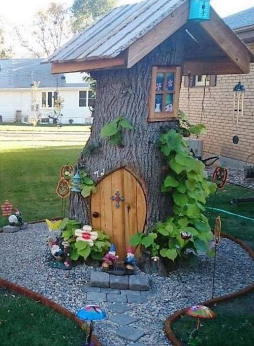 20. TREE HOME FOR SQUIRRELS