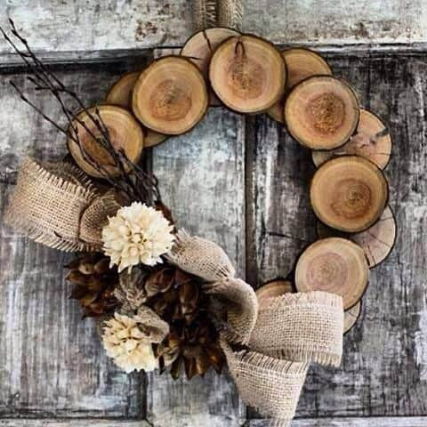 CREATE CUSTOM WOOD WREATHS