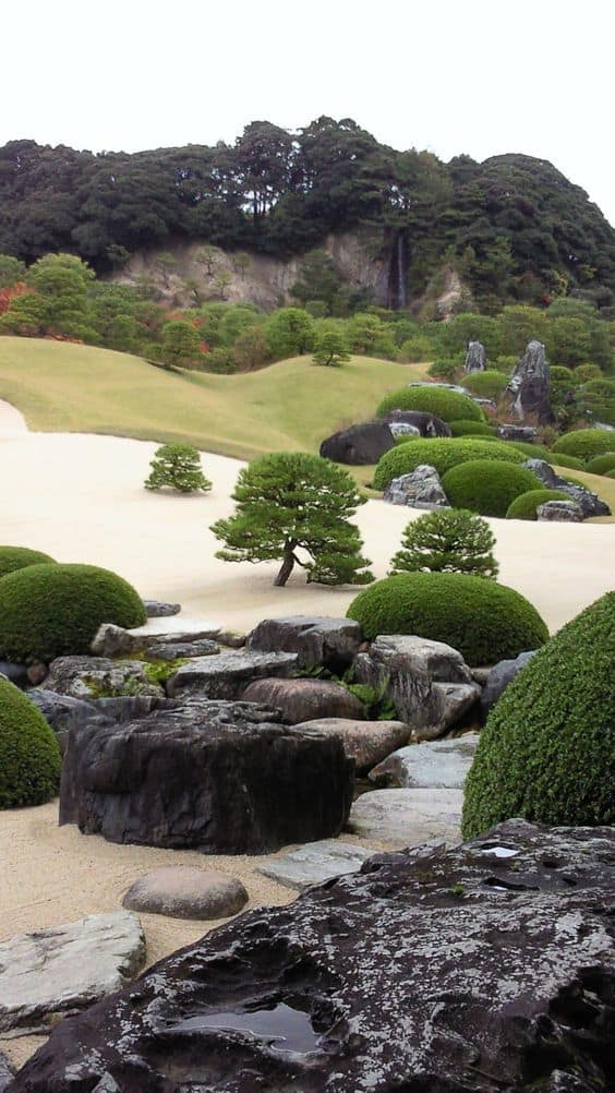 29. Surreal landscape shaped by simple elements