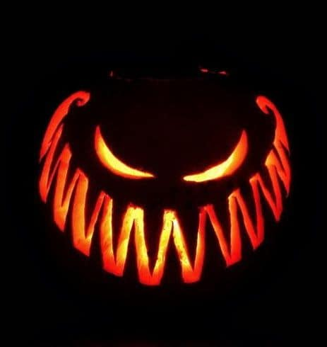 3. CARVE AN EVIL SMILE