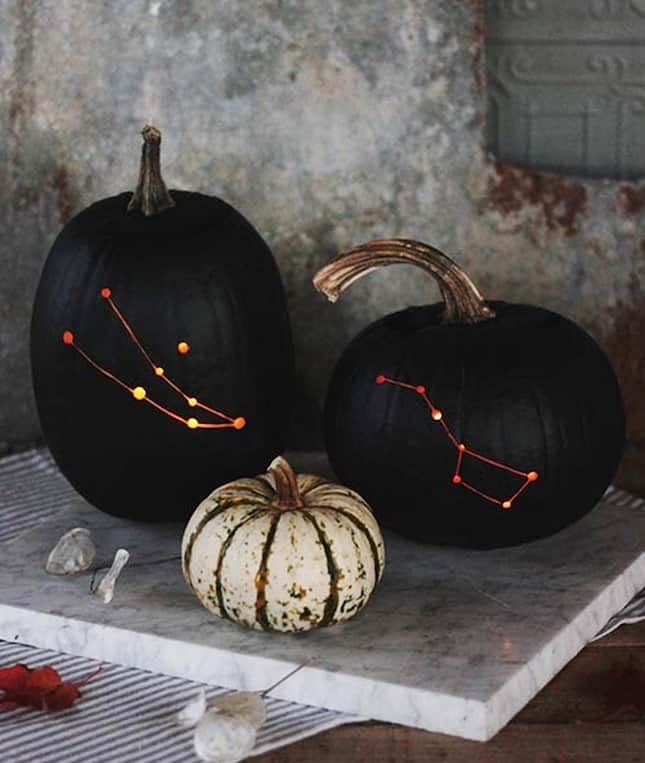 109. EPIC PUMPKINS DEPICTING CONSTELLATIONS