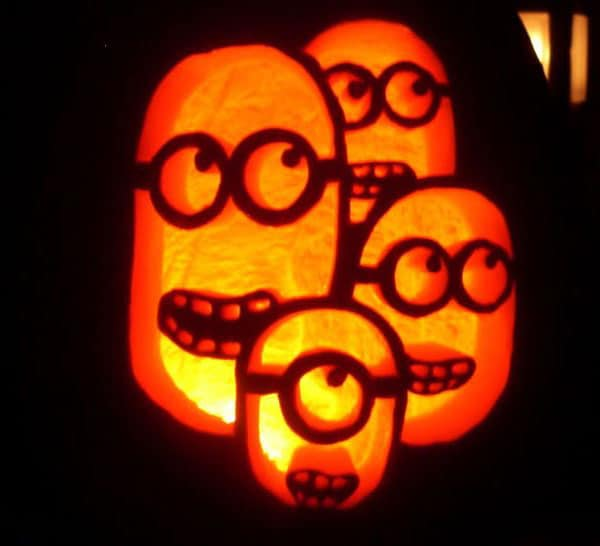 27. CARVE A MINION FAMILY