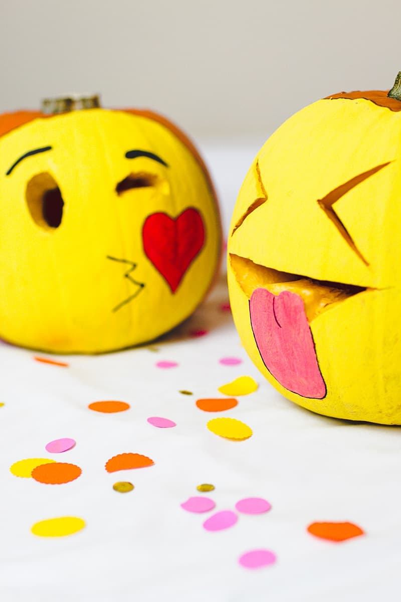 108. EMOTICON INSPIRED PUMPKIN CARVINGS