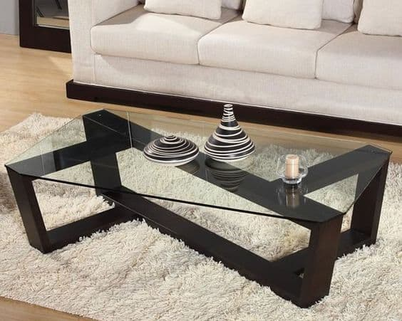 39 elegant glass coffee tables for a transparent living for Furniture tipoi design
