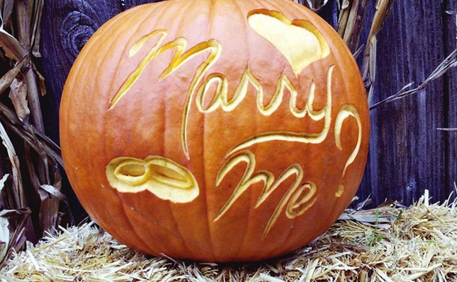 96. MARRY ME PUMPKIN CARVING