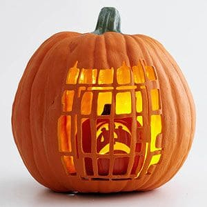 40. PUMPKIN PRISON IN A PUMPKIN FOR A PUMPKIN