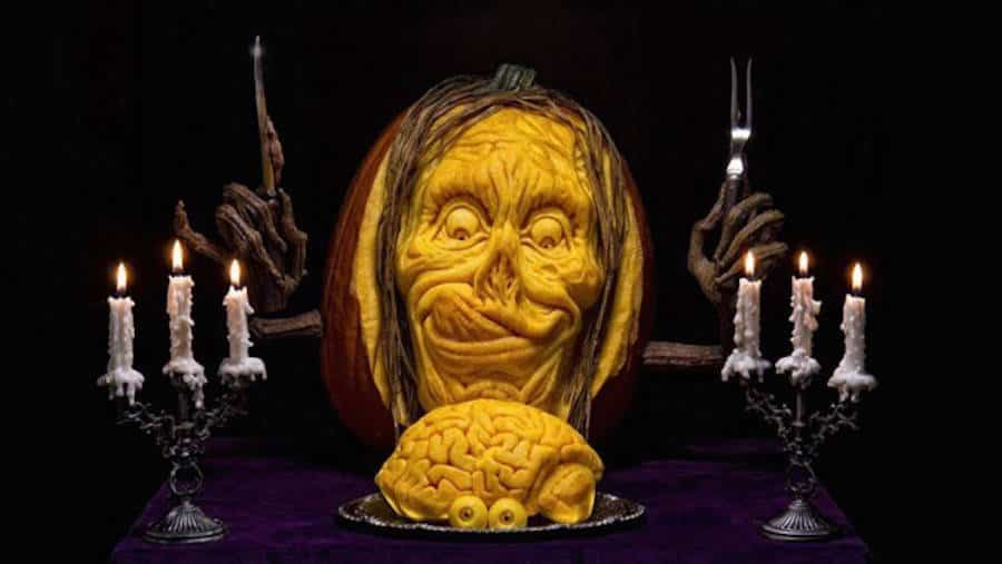 41. SCULPT AN EPIC PUMPKIN INSTALLATION