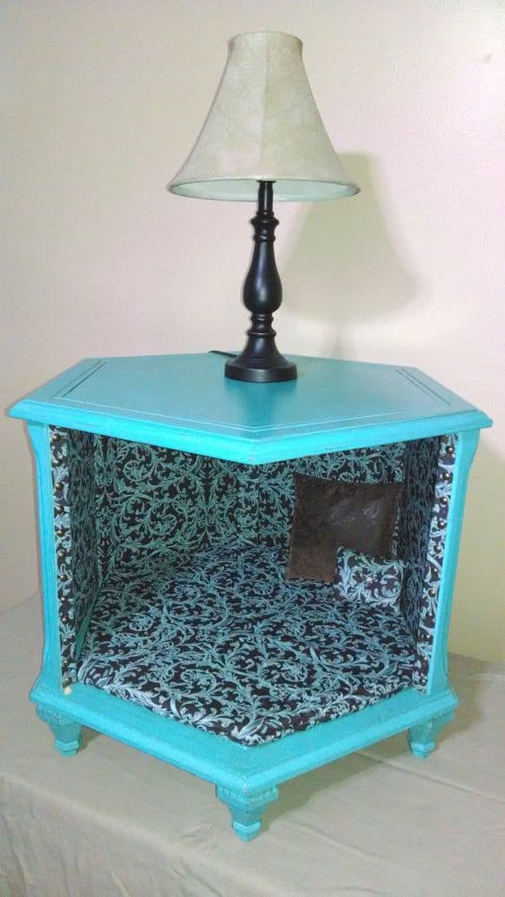 24. TRANSFORM A NIGHTSTAND INTO A DOG BEDROOM