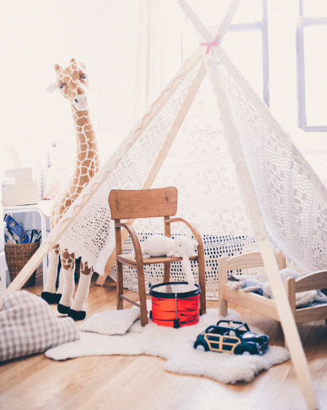 39 Swift and Insanely Fun DIY Tent for Kids 1