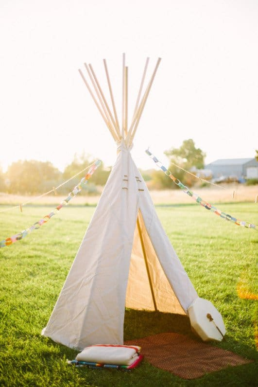39 Swift and Insanely Fun DIY Tent for Kids 11