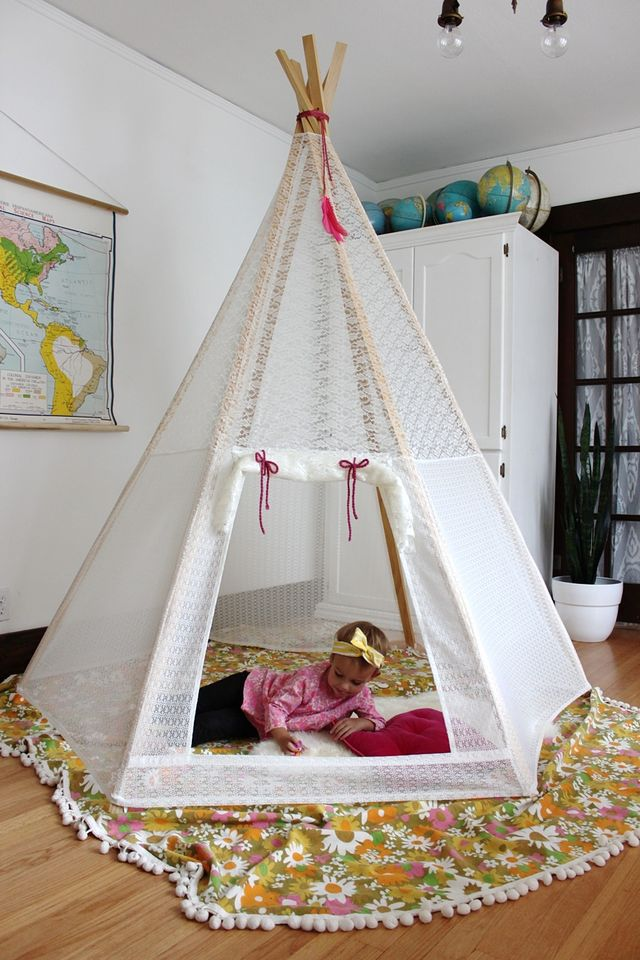 39 Swift and Insanely Fun DIY Tent for Kids 14