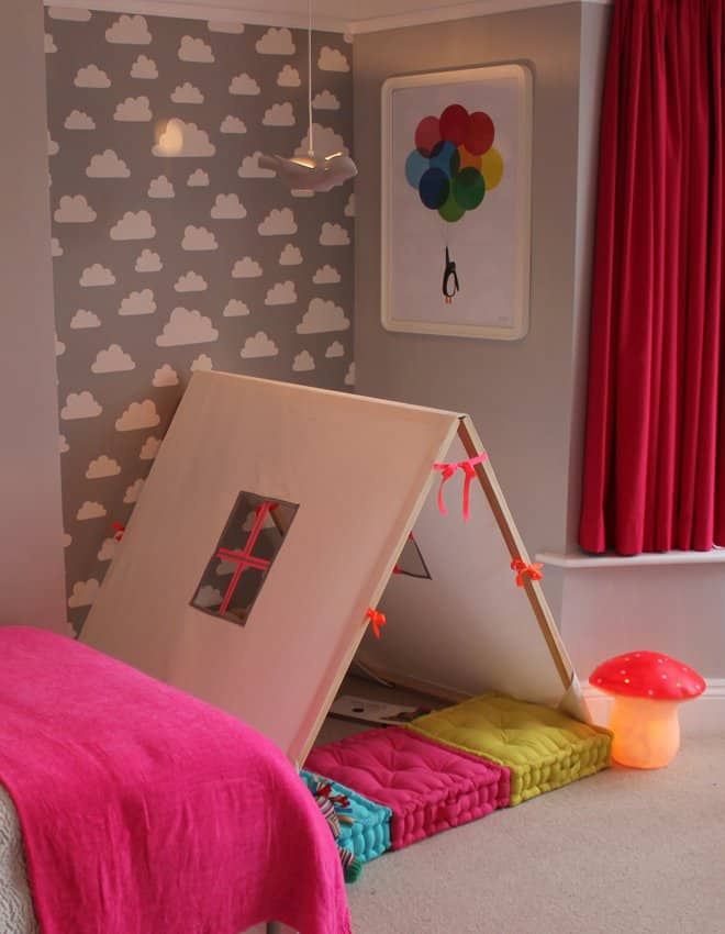 39 Swift and Insanely Fun DIY Tent for Kids 18