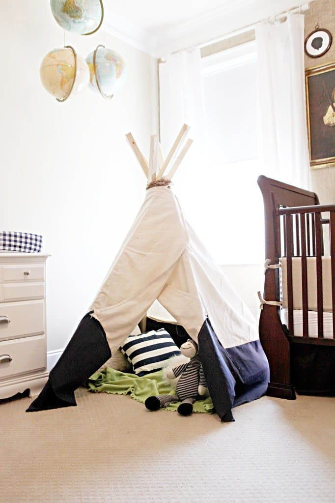 39 Swift and Insanely Fun DIY Tent for Kids 19