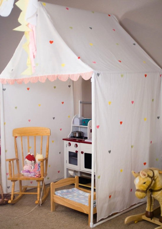 39 Swift and Insanely Fun DIY Tent for Kids 2