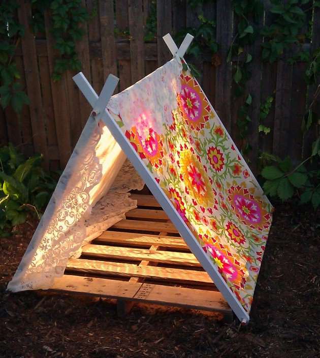 39 Swift and Insanely Fun DIY Tent for Kids 21
