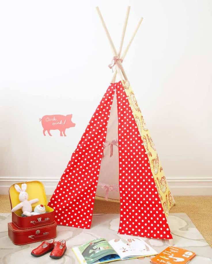 39 Swift and Insanely Fun DIY Tent for Kids 23