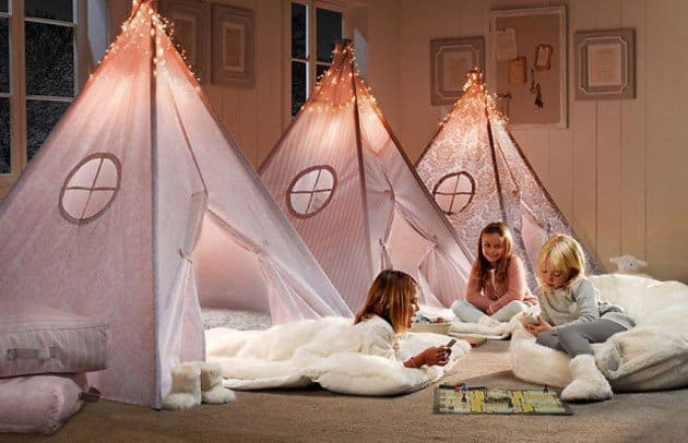 39 Swift and Insanely Fun DIY Tent for Kids 24