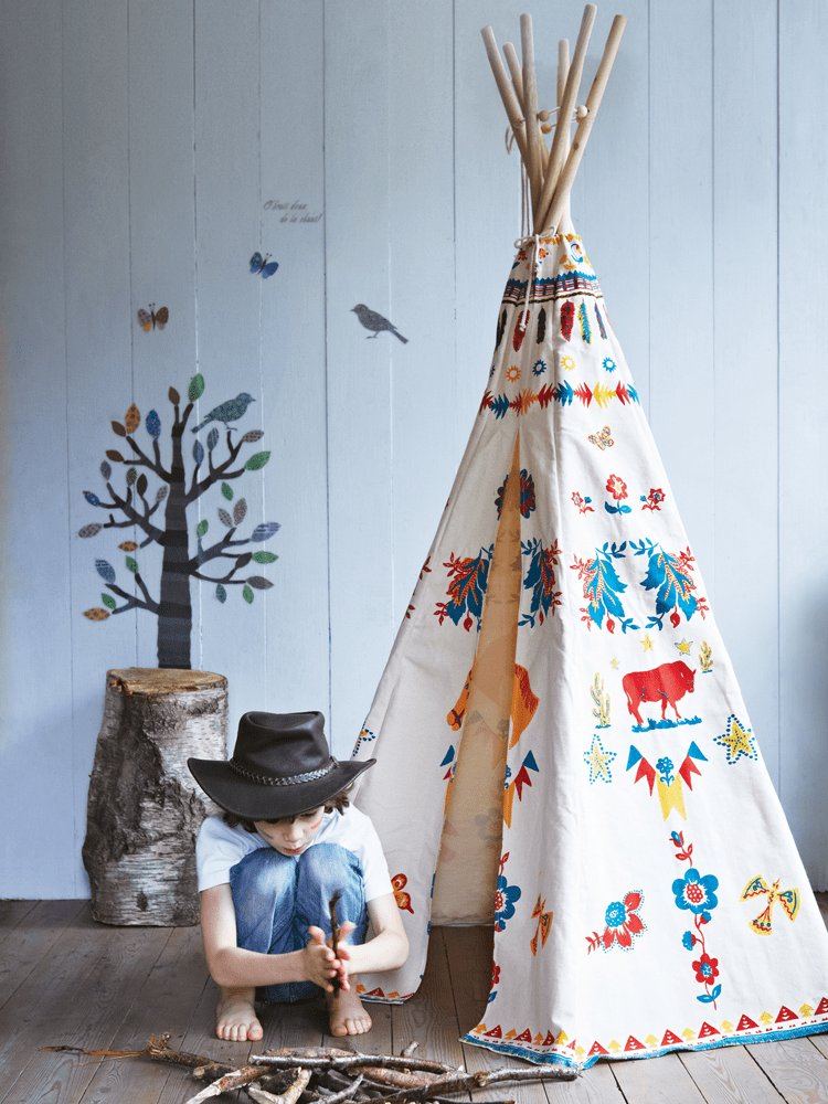 39 Swift and Insanely Fun DIY Tent for Kids 5