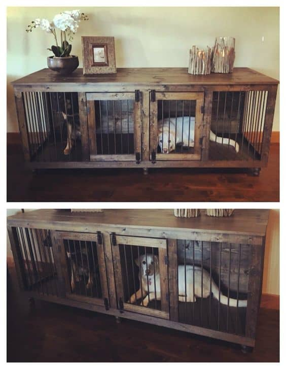 5. UNIQUE LIVING DOGGIE DEN
