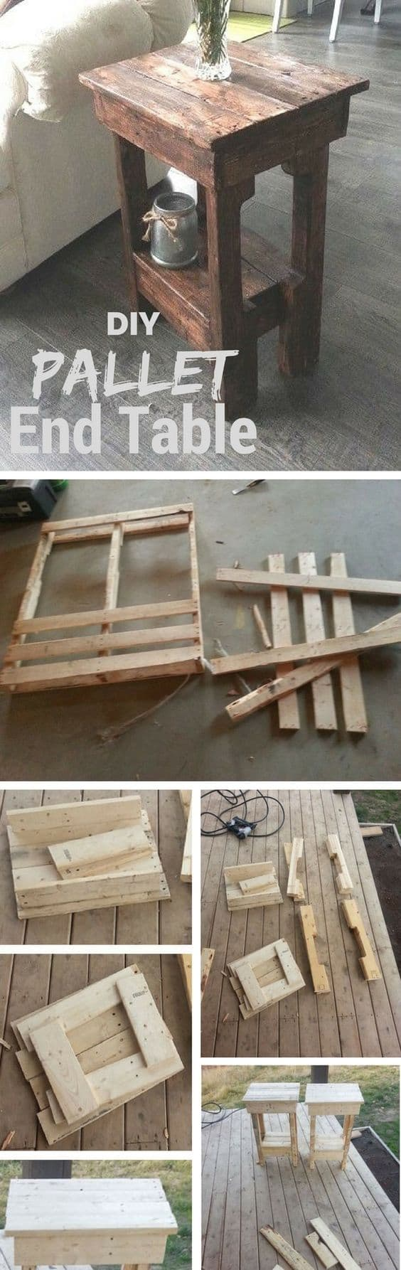 2.  TURNING WOODEN PALLETS INTO EXCLUSIVE FURNITURE